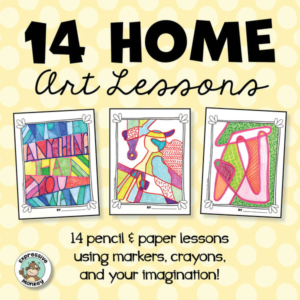 14 Home Art Lessons