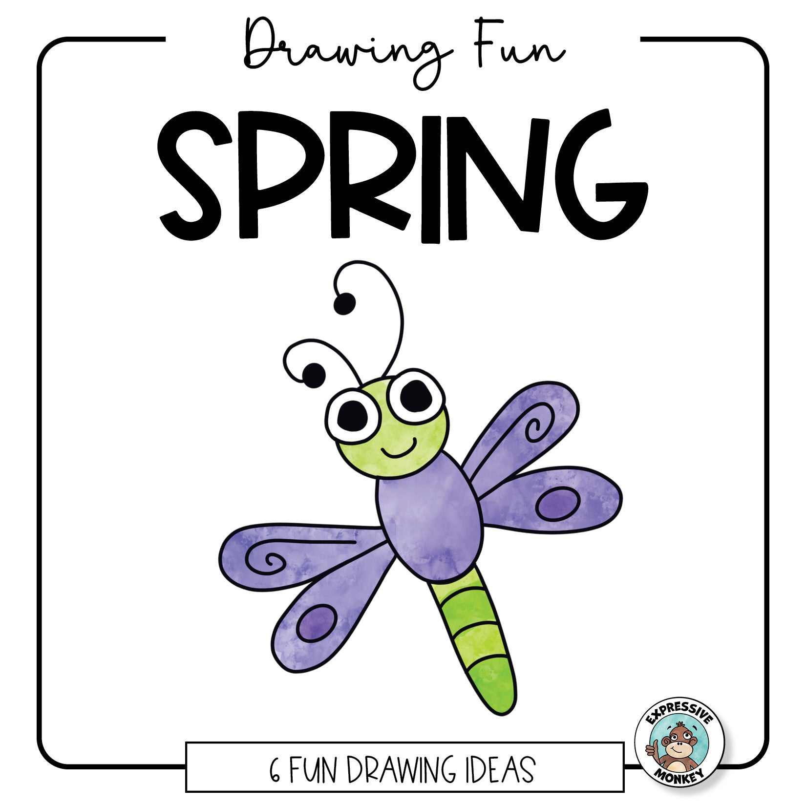 Spring Drawing Fun