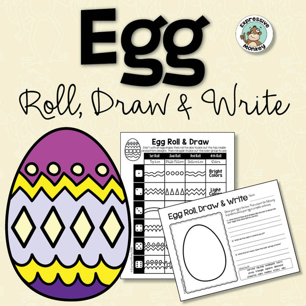 Egg Roll, Draw & Write