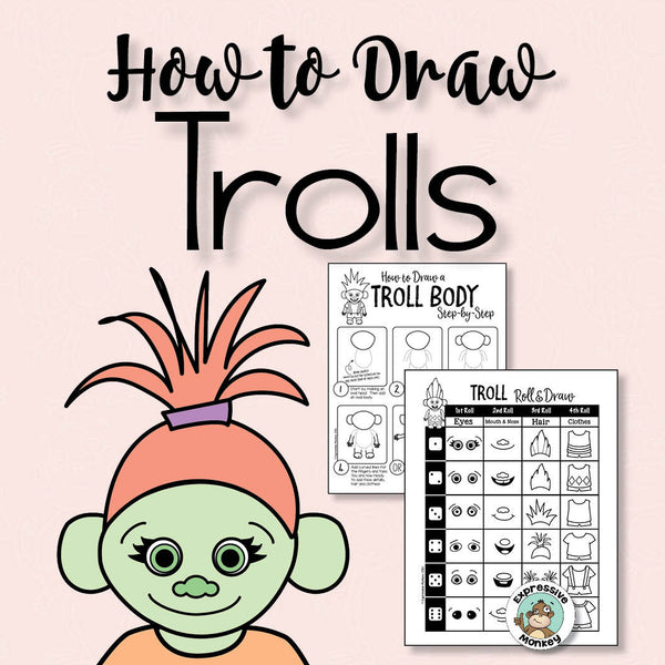 Troll Drawing Pages