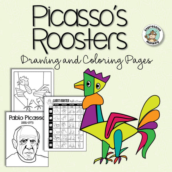 Year of the Rooster Art Activity: Picasso's Roosters