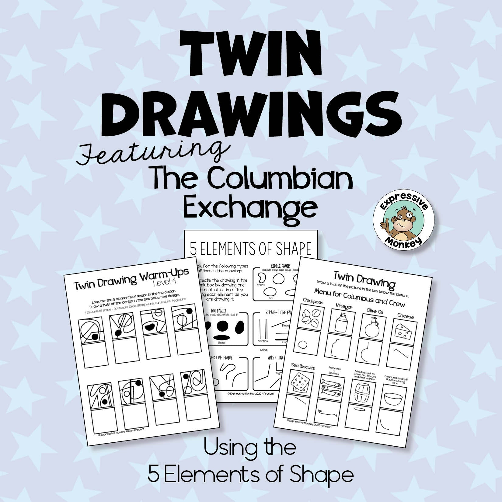 Twin Drawings of the Columbian Exchange