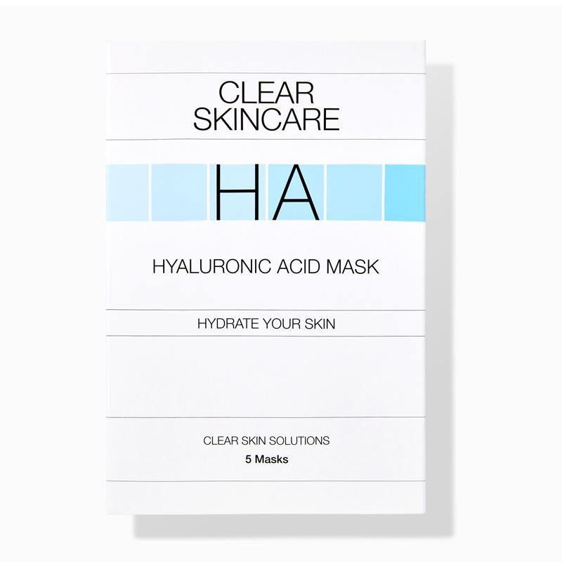 Clear Skincare Hyaluronic Acid Masks 5 Pack
