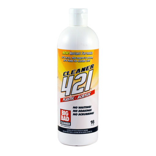 421 Acrylic Cleaner 16oz - The Downstem