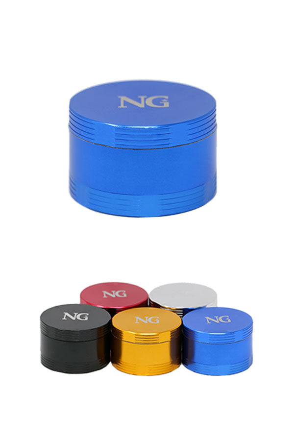 NG 4-Piece (Inside Screen) Aluminum Grinder - The Downstem