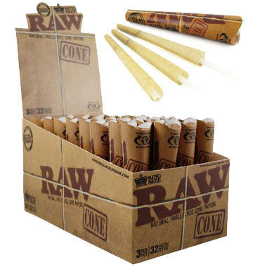 RAW Pre-Rolled Cones KS