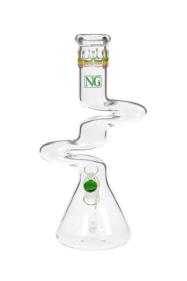 14 Inch NG Zong Beaker - The Downstem