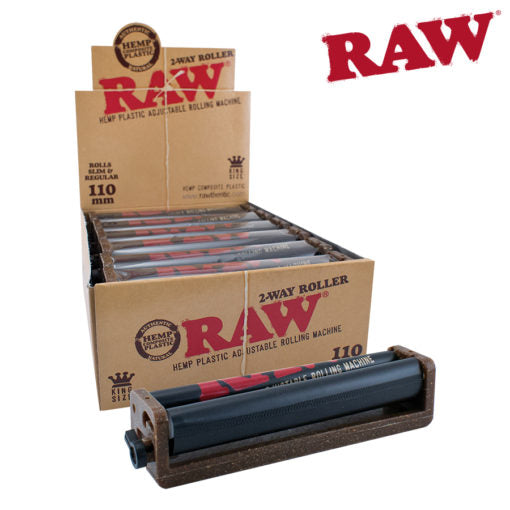 RAW HEMP PLASTIC ADJUSTABLE 2-WAY ROLLER 110MM