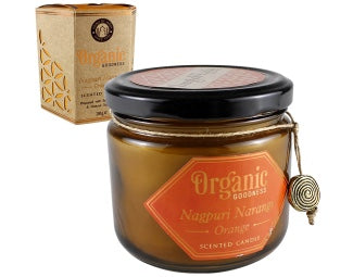 Organic Goodness Soy Candle - Orange - The Downstem