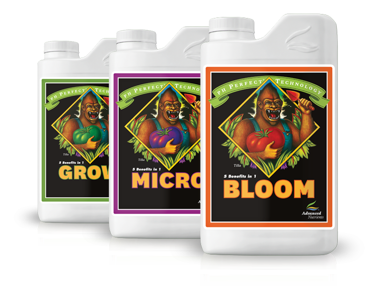 Advanced Nutrients pH Perfect Grow, Micro, Bloom - The Downstem