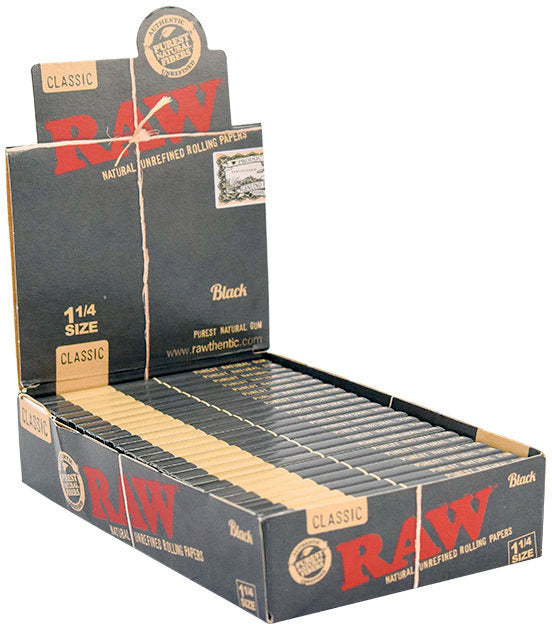 "RAW Black Papers 1"" 1/4"
