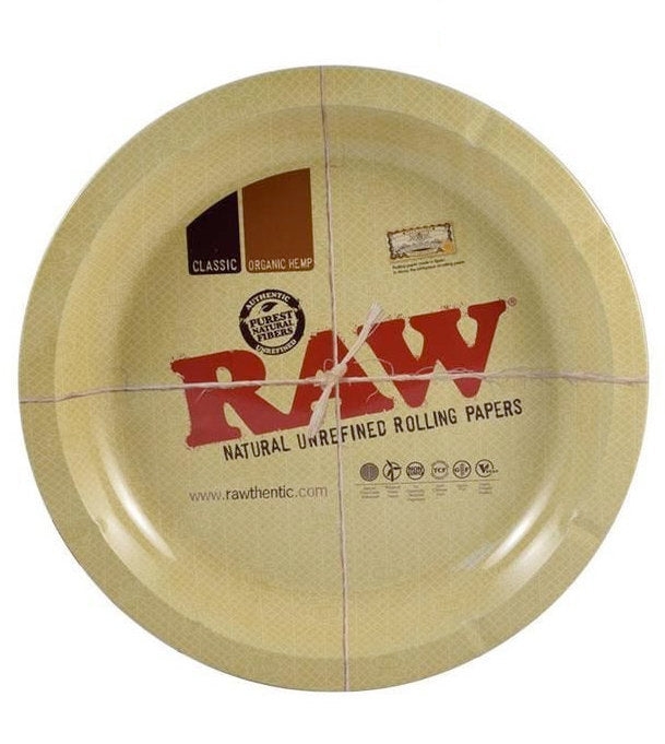 Raw Metal Ash Tray