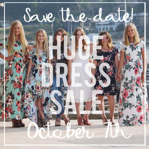 Huge Dress Sale!