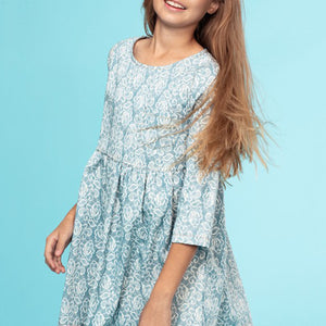 ECCkids - Blakely Lace-Printed Dress
