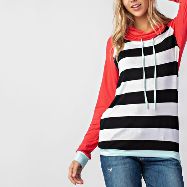 The Blake Cowl Neck Pullover Top