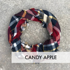 Blanket Scarf - Plaid