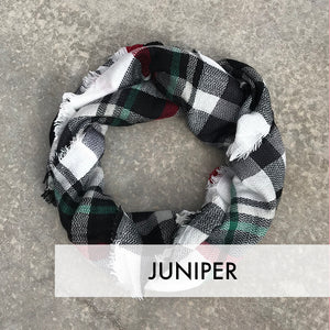 Blanket Scarf Shawl Wrap Warm Stylish Plaid Holiday Winter