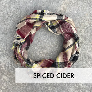 Blanket Scarf Shawl Wrap Warm Stylish Plaid Fall