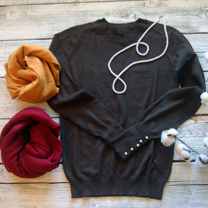 Dani Solid Knit Top
