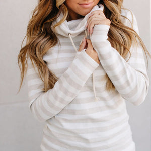 """Naturally Needed"" Cowl Neck Sweatshirt"