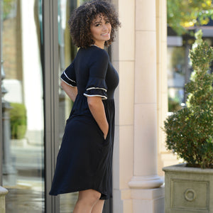 Penelope Bell Sleeve Dress