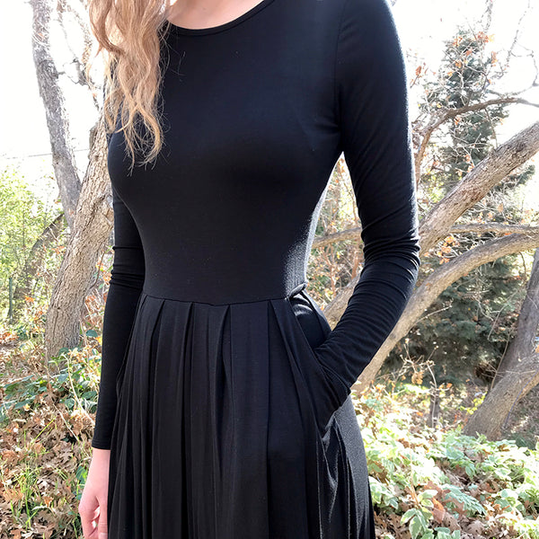 The Shelby Pleated Dress