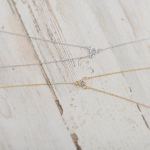 The Sparkle Drop Necklace