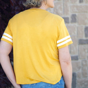 Cooper Sports Striped Tee