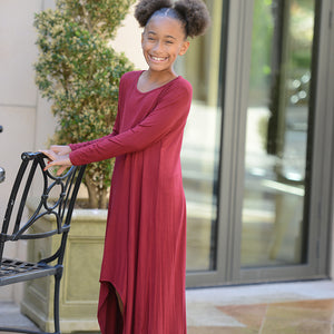 Kids: The Tessa High-Low Maxi