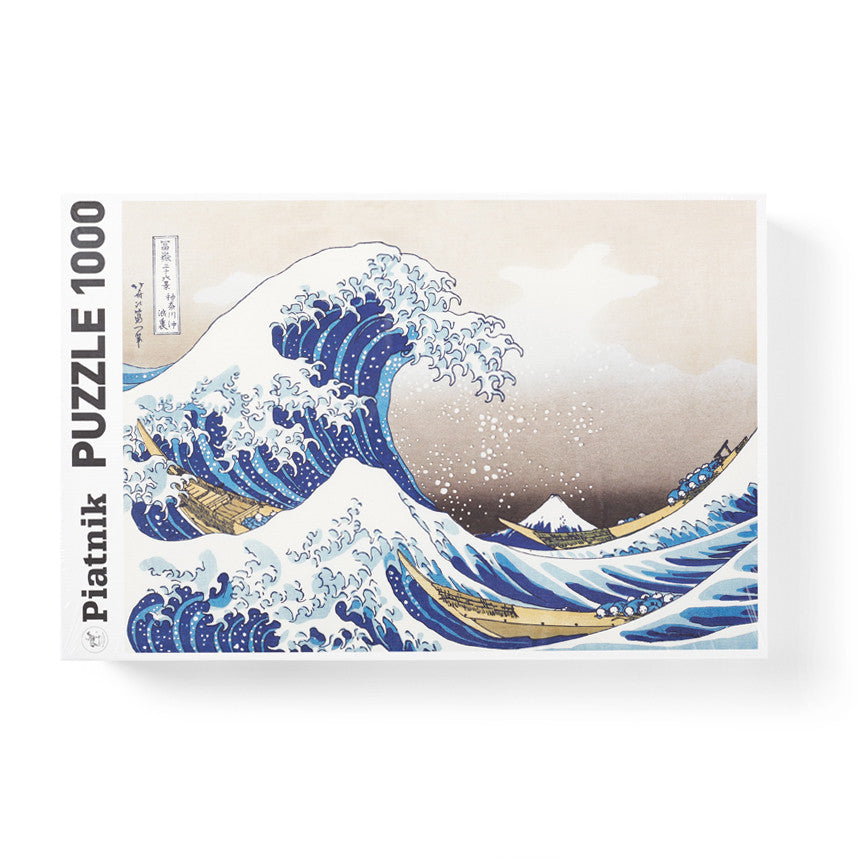 "Hokusai ""The Great Wave"" Jigsaw Puzzle"