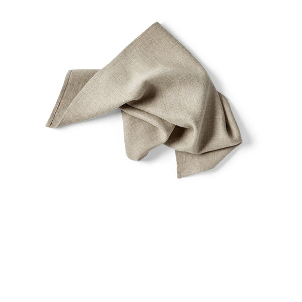 Huron 22 inch Heirloom Linen Napkin - Natural