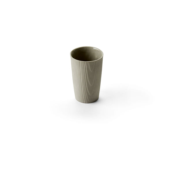 Porcelain Wood Grain Cup