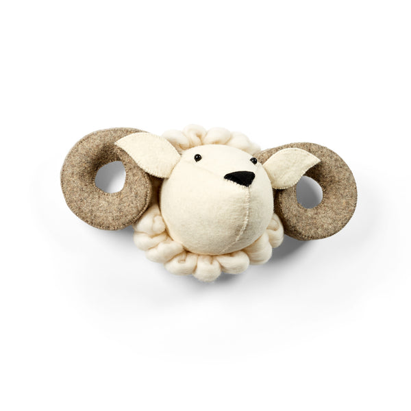 Ram Felt Animal Head