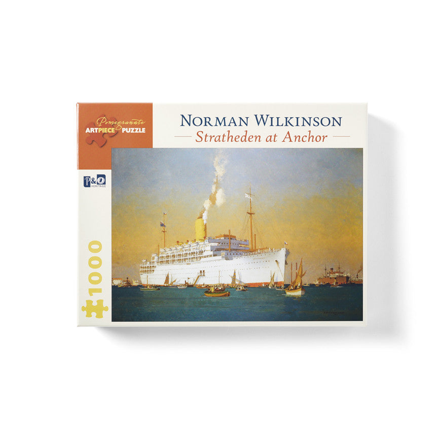 "Norman Wilkinson ""Stratheden At Anchor"" Jigsaw Puzzle"