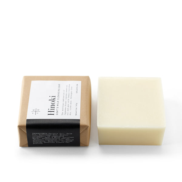 Hinoki Goat's Milk Cleansing Bar