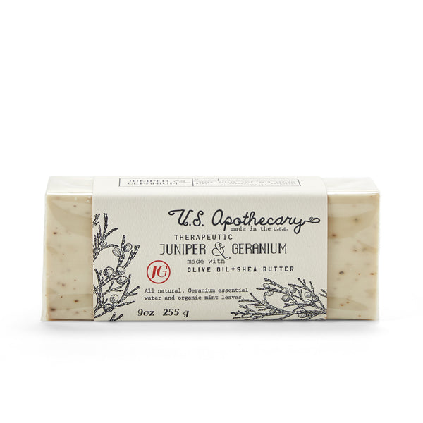 Juniper and Geranium Bar Soap