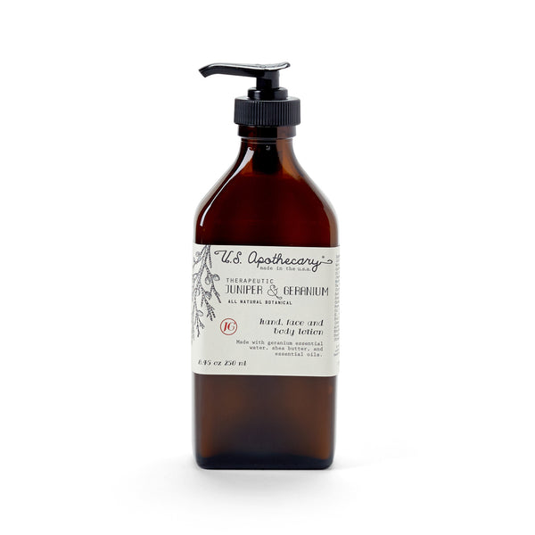 Juniper and Geranium Lotion