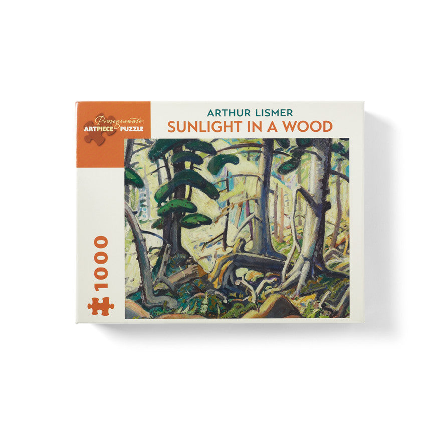 "Arthur Lismer ""Sunlight In A Wood"" Jigsaw Puzzle"