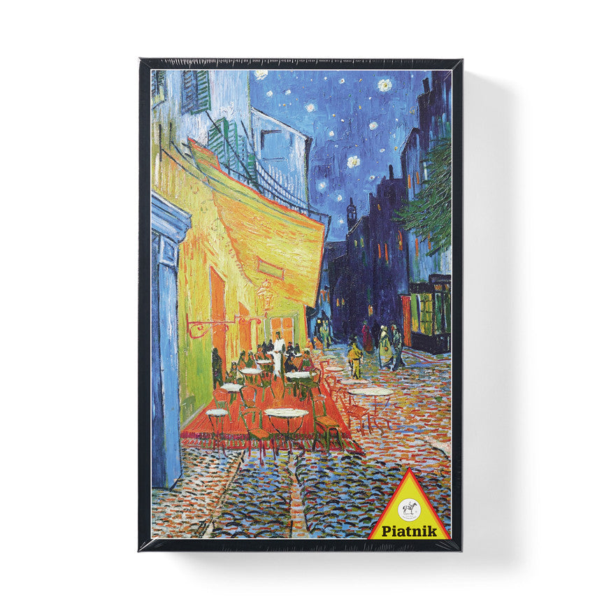 "Vincent van Gogh ""Terrace At Night"" Jigsaw Puzzle"