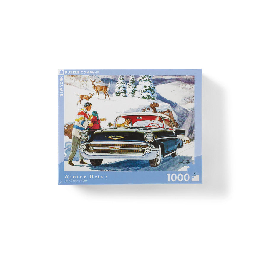 """Winter Drive"" Jigsaw Puzzle"