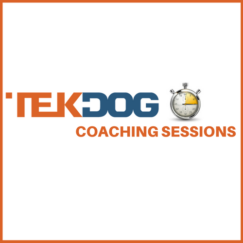 TekDog 1-Hour Coaching Sessions