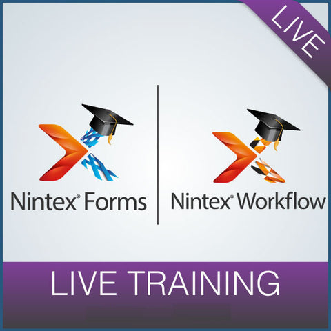 Live Training: Nintex Workflow & Forms July 24 -26