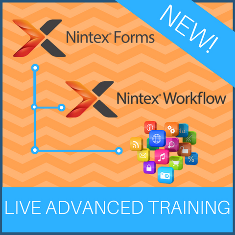 Live Advanced Concepts Nintex Training (1 day) *NOTE: This is an advanced course*