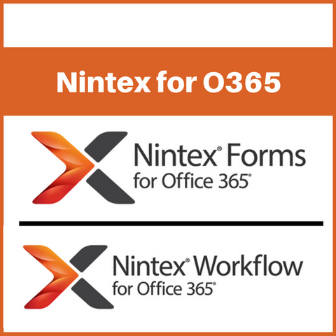 Nintex for Office 365 Training (60 day or 1-year)