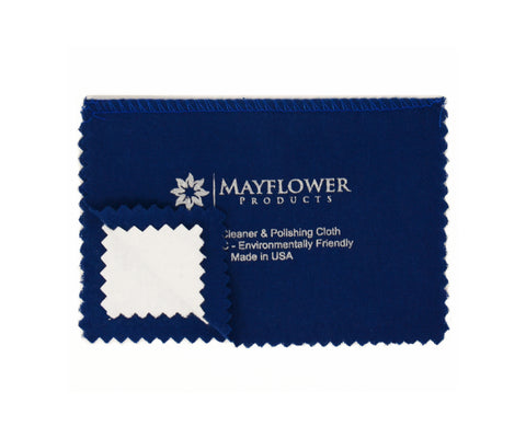 Travel Polishing Cloth 6 x 8 inches for Silver, Gold and Platinum