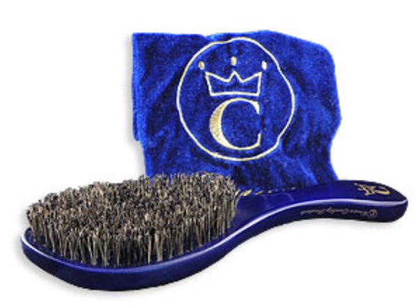 Crown Quality Products 360 Gold Caesar Brush