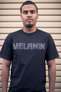 Men's Black MELANIN T-Shirt