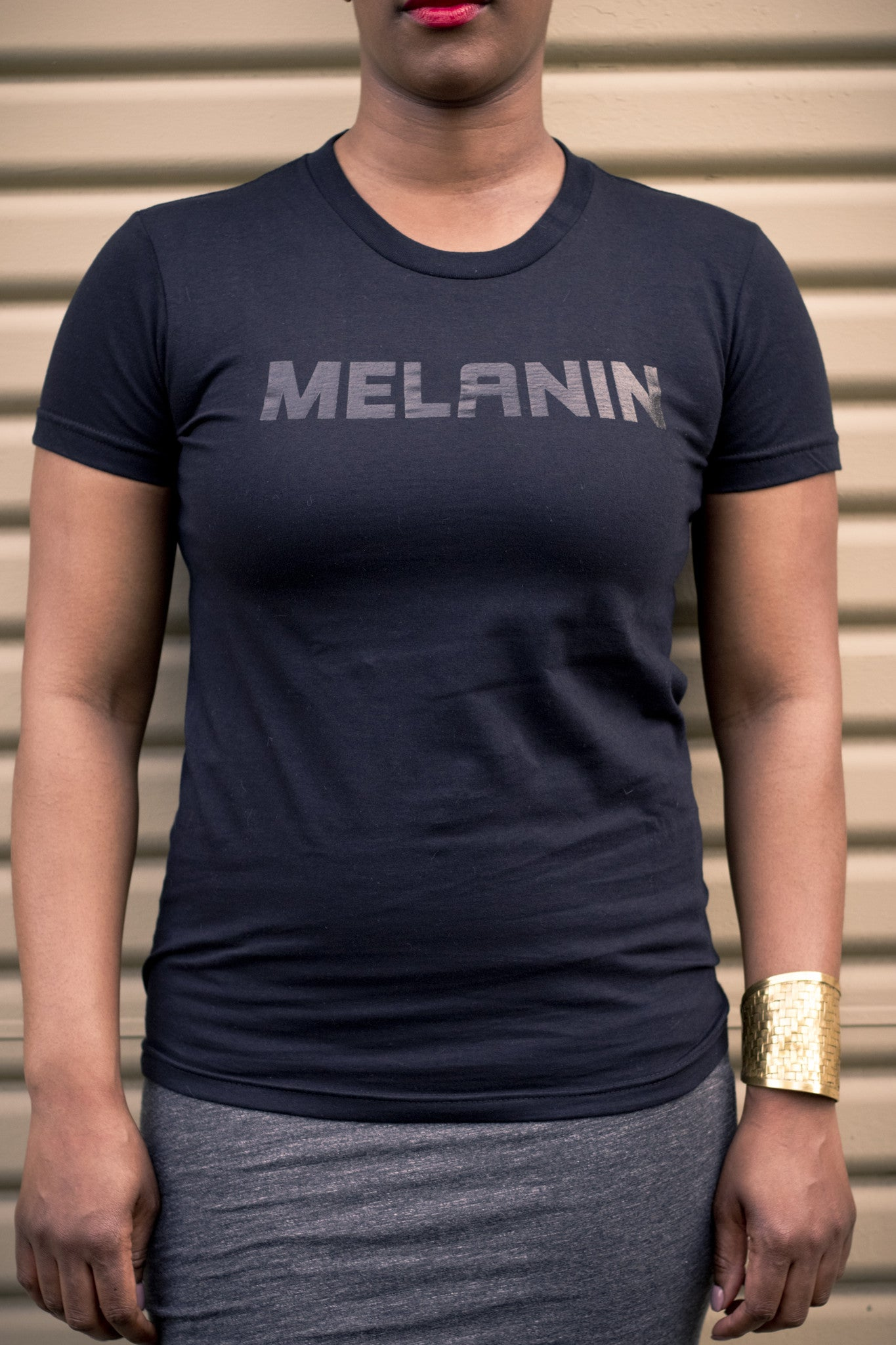 Women's MELANIN T-Shirt Black