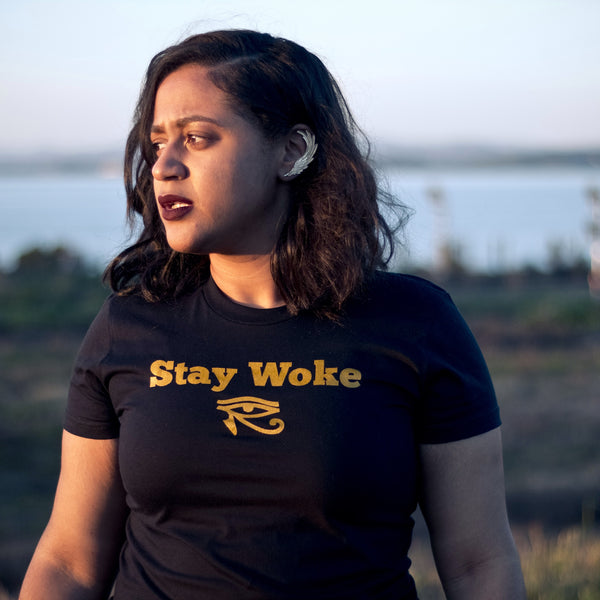 Women's Stay Woke T-Shirt