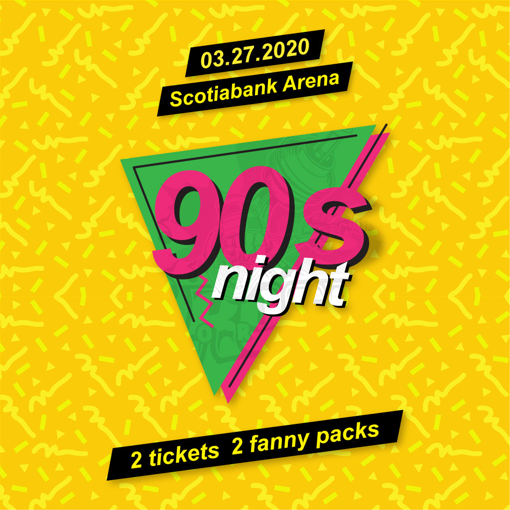 90's Night Ticket Pack